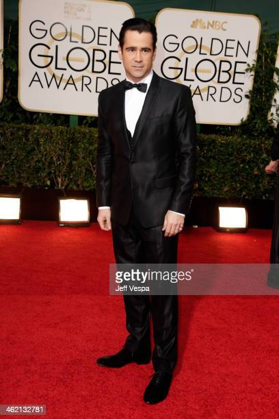 Actor Colin Farrell attends the 71st Annual Golden Globe Awards held at The Beverly Hilton Hotel on January 12 2014 in Beverly Hills California
