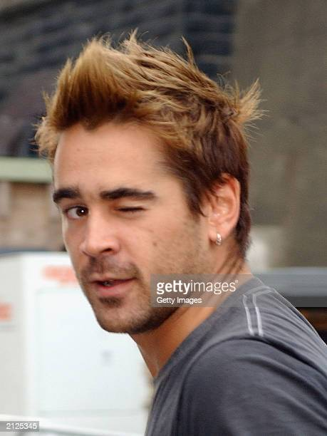 Actor Colin Farrell attends the closing ceremony of The 11th Special Olympic World Summer Games at Croke Park June 29 2003 in Dublin Ireland