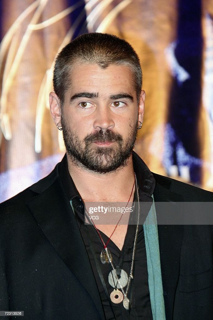 Actor Colin Farrell attends the premiere of the film Miami Vice on October 30, 2006 in Beijing, China.