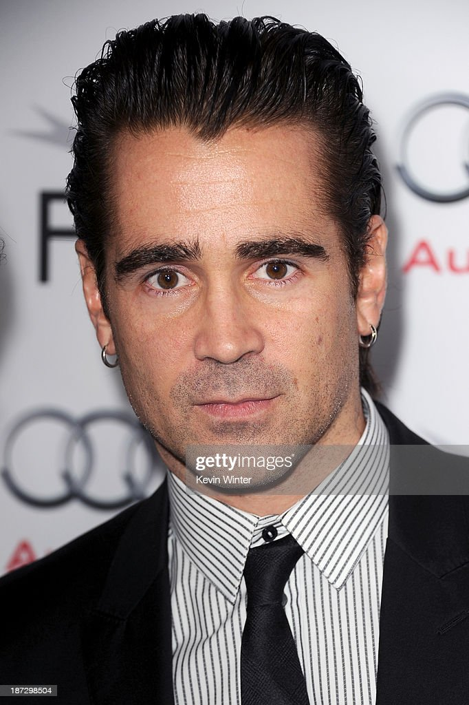 Actor <a gi-track='captionPersonalityLinkClicked' href=/galleries/search?phrase=Colin+Farrell&family=editorial&specificpeople=202154 ng-click='$event.stopPropagation()'>Colin Farrell</a> attends the premiere of Walt Disney Pictures' 'Saving Mr. Banks' during AFI FEST 2013 presented by Audi at TCL Chinese Theatre on November 7, 2013 in Hollywood, California.
