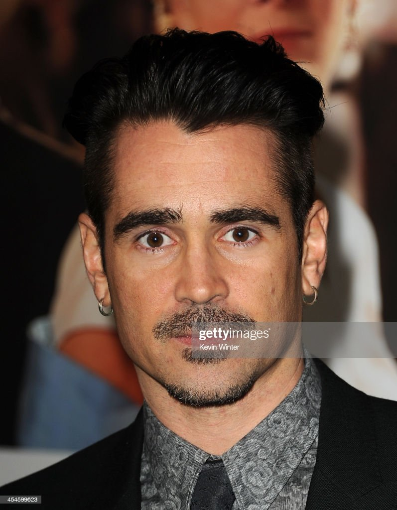 Actor Colin Farrell attends the U.S. premiere of Disney's 'Saving Mr. Banks', the untold backstory of how the classic film 'Mary Poppins' made it to the screen, at the Walt Disney Studios on December 9, 2013 in Burbank, California. The film opens this Holiday season.