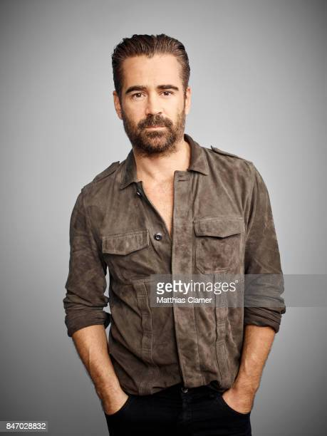 Actor Colin Farrell from 'Fantastic Beasts and Where To Find Them' is photographed for Entertainment Weekly Magazine on July 23 2016 at Comic Con in...