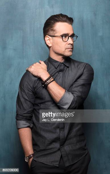 Actor Colin Farrell from the film 'Killing of a Sacred Deer' poses for a portrait at the 2017 Toronto International Film Festival for Los Angeles...