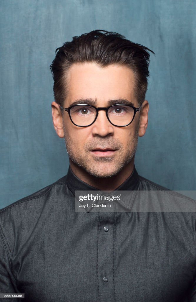 Actor Colin Farrell, from the film 'Killing of a Sacred Deer,' poses for a portrait at the 2017 Toronto International Film Festival for Los Angeles Times on September 9, 2017 in Toronto, Ontario.