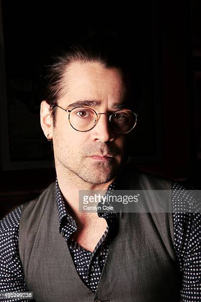 Actor Colin Farrell is photographed for Los Angeles Times on February 9 2014 in New York City PUBLISHED IMAGE CREDIT MUST BE Carolyn Cole/Los Angeles...