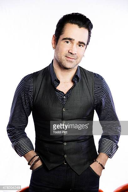 Actor Colin Farrell is photographed for USA Today on February 9 2014 in New York City PUBLISHED IMAGE