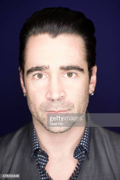 Actor Colin Farrell is photographed for USA Today on February 9 2014 in New York City