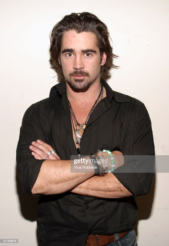 Colin Farrell At Madame Tussands