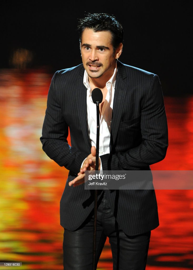 Actor Colin Farrell onstage during Spike TV's 'Scream 2011' at Universal Studios on October 15 2011 in Universal City California