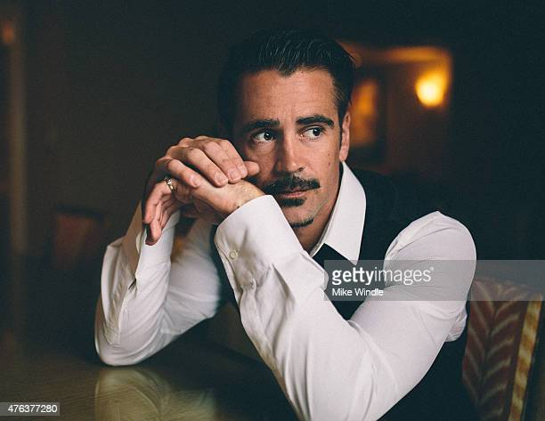 Actor Colin Farrell poses for a Portrait Session at the Maui Film Festival on June 4 2015 in Wailea Hawaii