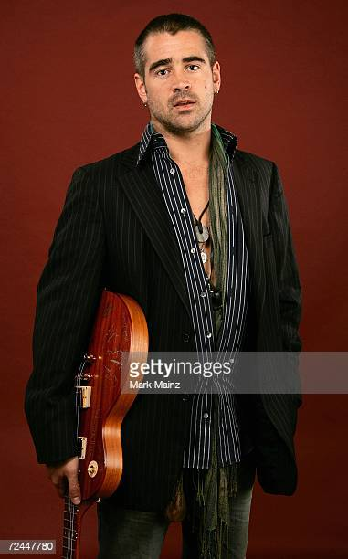 Actor Colin Farrell poses in the portrait studio at the AFI FEST 2006 presented by Audi at the Arclight Hollywood November 7 2006 in Hollywood...