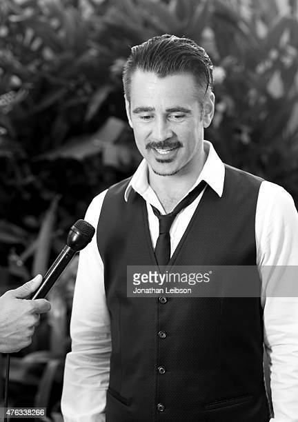 Actor Colin Farrell recipient of the 2015 Maui Film Festival Navigator Award poses for a portrait during day two of the 2015 Maui Film Festival at...