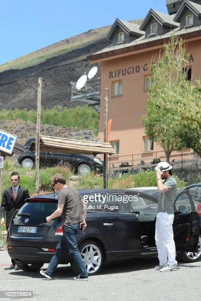 Actor Colin Firth a sightings At Mount Etna on June 19 2010 in Catania Italy