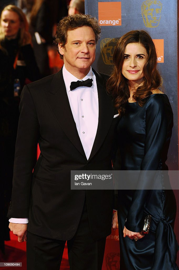 Actor <a gi-track='captionPersonalityLinkClicked' href=/galleries/search?phrase=Colin+Firth&family=editorial&specificpeople=201620 ng-click='$event.stopPropagation()'>Colin Firth</a> and his wife <a gi-track='captionPersonalityLinkClicked' href=/galleries/search?phrase=Livia+Giuggioli&family=editorial&specificpeople=240162 ng-click='$event.stopPropagation()'>Livia Giuggioli</a> arrive for the Orange British Academy Film Awards at The Royal Opera House on February 13, 2011 in London, England.