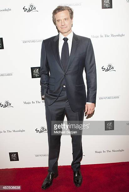 Actor Colin Firth arrives at Sony Pictures Classics Presents the 'Magic In The Moonlight' Premiere Hosted By Sabra on July 21 2014 in Hollywood...