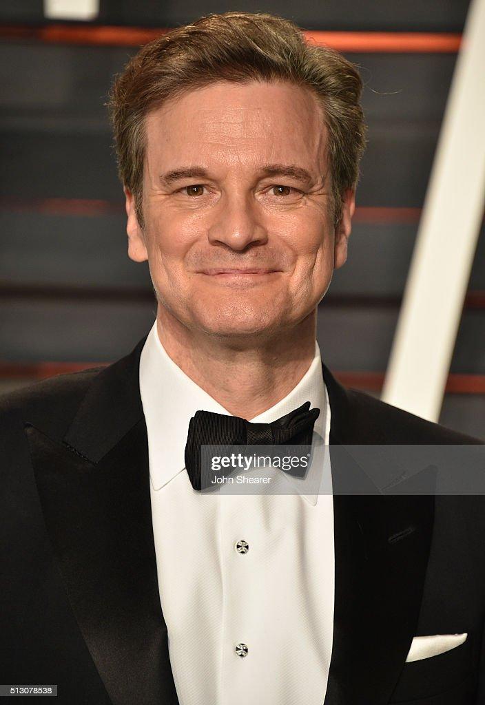 Actor Colin Firth arri...