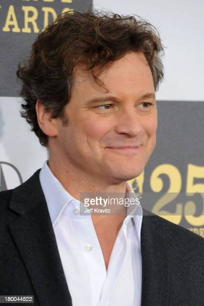 Actor Colin Firth arrives at the 25th Film Independent Spirit Awards held at Nokia Theatre LA Live on March 5 2010 in Los Angeles California