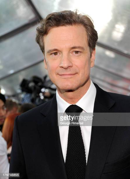 Actor Colin Firth arrives at 'The Railway Man' premiere during the 2013 Toronto International Film Festival at Roy Thomson Hall on September 6 2013...