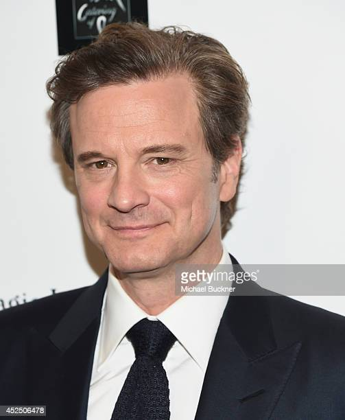 Actor Colin Firth arrives at the screening of Sony Pictures Classics' 'Magic In The Moonlight' at the Linwood Dunn Theater at the Pickford Center for...