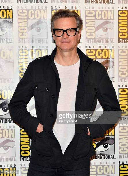 Actor Colin Firth at the 'Kingsman The Secret Service' press line at Hilton Bayfront during ComicCon International 2017 on July 20 2017 in San Diego...
