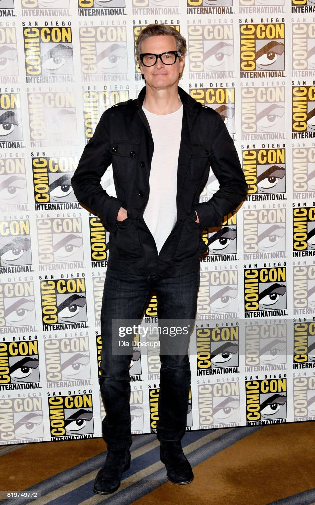 Actor Colin Firth at the 'Kingsman: The Secret Service' press line at Hilton Bayfront during Comic-Con International 2017 on July 20, 2017 in San Diego, California.