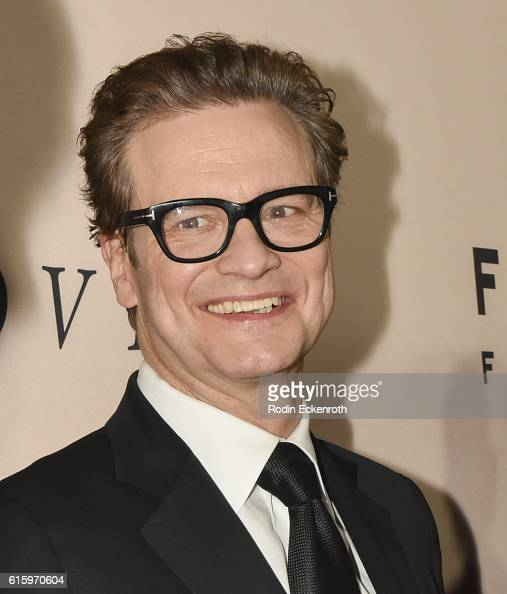 Actor Colin Firth at the Los Angeles Premiere of Focus Features' LOVING at Samuel Goldwyn Theater on October 20 2016 in Beverly Hills California