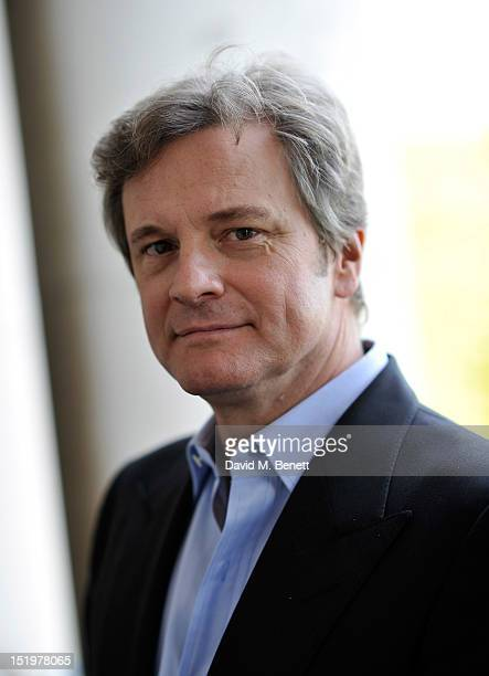 Actor Colin Firth attends a photocall for the Green Cut at Somerset House on September 13 2012 in London England