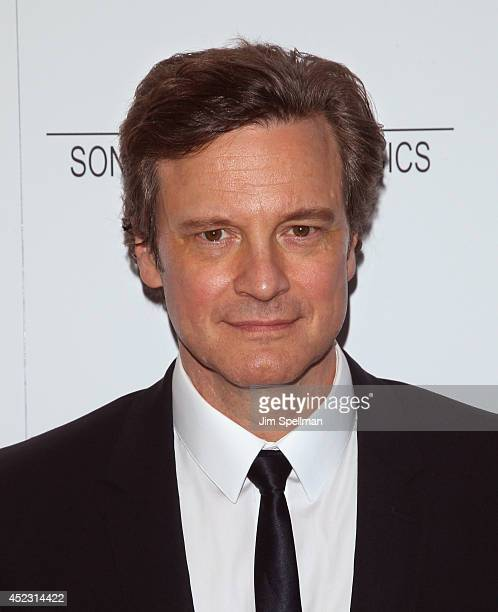Actor Colin Firth attends 'Magic In The Moonlight' premiere at Paris Theater on July 17 2014 in New York City