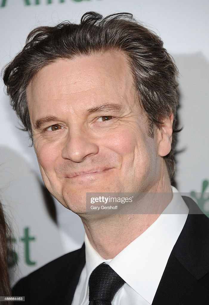 Actor <a gi-track='captionPersonalityLinkClicked' href=/galleries/search?phrase=Colin+Firth&family=editorial&specificpeople=201620 ng-click='$event.stopPropagation()'>Colin Firth</a> attends the 2014 Rainforest Alliance Gala at American Museum of Natural History on May 7, 2014 in New York City.