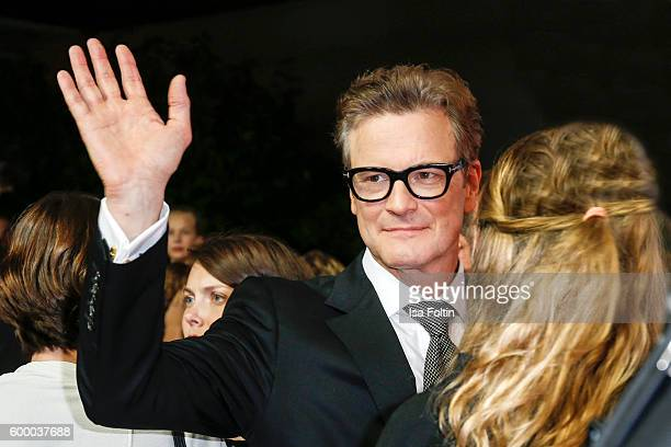 US actor Colin Firth attends the 'Bridget Jones Baby' German Premiere at Zoo Palast on September 7 2016 in Berlin Germany