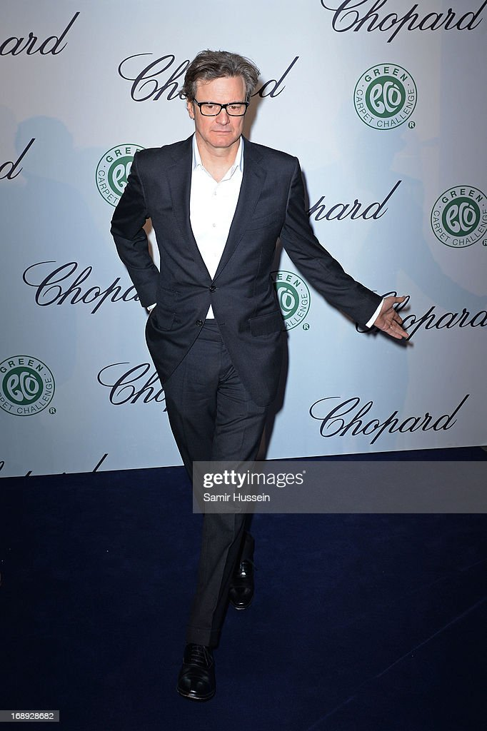 Actor <a gi-track='captionPersonalityLinkClicked' href=/galleries/search?phrase=Colin+Firth&family=editorial&specificpeople=201620 ng-click='$event.stopPropagation()'>Colin Firth</a> attends the Chopard Lunch during the 66th Annual Cannes Film Festival on May 17, 2013 in Cannes, France.