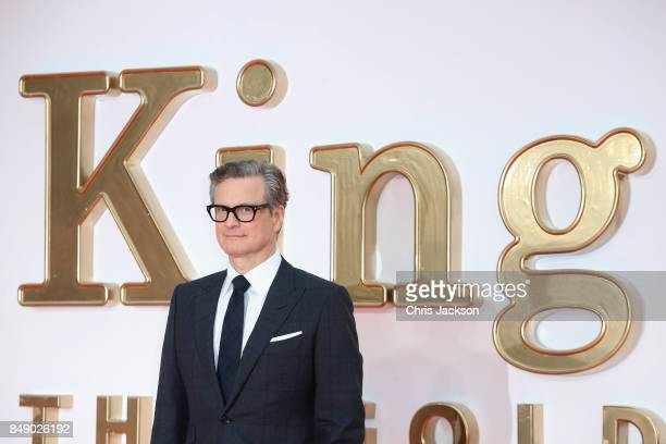 Actor Colin Firth attends the 'Kingsman The Golden Circle' World Premiere held at Odeon Leicester Square on September 18 2017 in London England