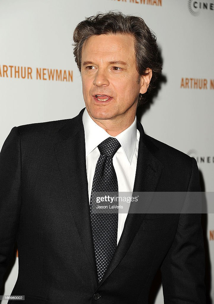 Actor Colin Firth attends the premiere of 'Arthur Newman' at ArcLight Hollywood on April 18, 2013 in Hollywood, California.