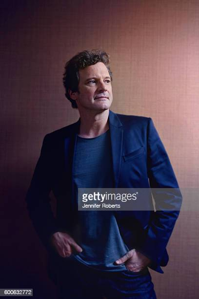 Actor Colin Firth is photographed for The Globe and Mail on September 17 2011 in Toronto Ontario