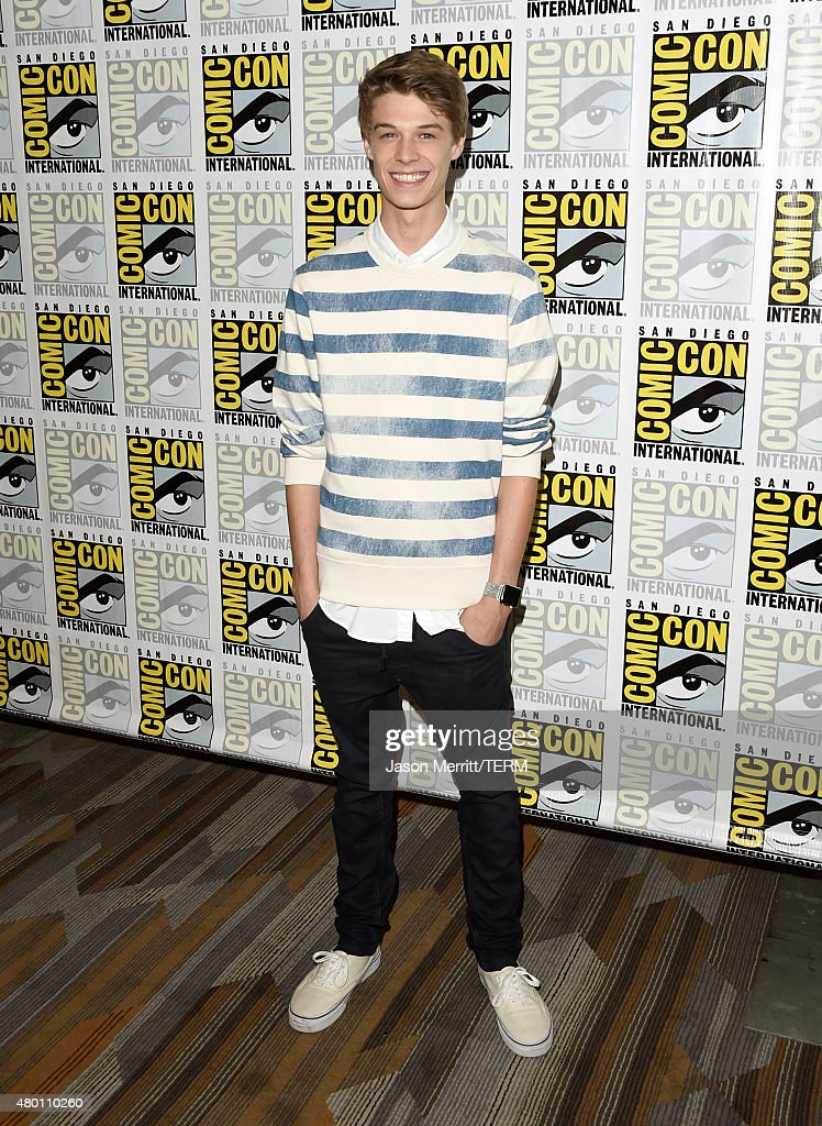 Actor <a gi-track='captionPersonalityLinkClicked' href=/galleries/search?phrase=Colin+Ford+-+Actor&family=editorial&specificpeople=11330146 ng-click='$event.stopPropagation()'>Colin Ford</a> attends the CBS Television Studios press room during Comic-Con International 2015 at the Hilton Bayfront on July 9, 2015 in San Diego, California.
