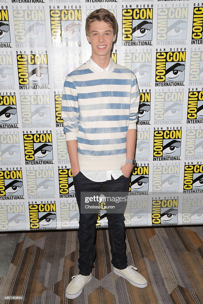 Actor <a gi-track='captionPersonalityLinkClicked' href=/galleries/search?phrase=Colin+Ford+-+Actor&family=editorial&specificpeople=11330146 ng-click='$event.stopPropagation()'>Colin Ford</a> attends the CBS Television Studios press room during Comic-Con International on July 9, 2015 in San Diego, California.