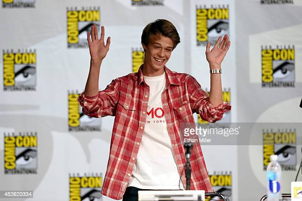 Actor Colin Ford attends the CBS 'Under The Dome' panel and exclusive sneak preview during ComicCon International 2014 at the San Diego Convention...