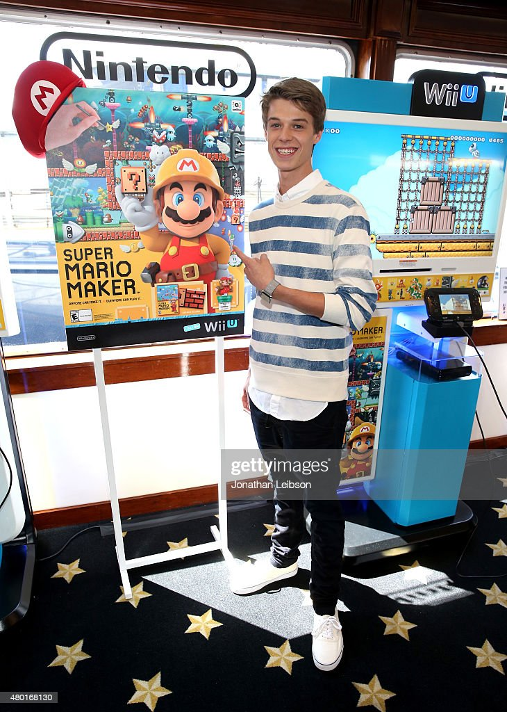 Actor <a gi-track='captionPersonalityLinkClicked' href=/galleries/search?phrase=Colin+Ford+-+Actor&family=editorial&specificpeople=11330146 ng-click='$event.stopPropagation()'>Colin Ford</a> attends The Nintendo Lounge on the TV Guide Magazine yacht during Comic-Con International 2015 on July 9, 2015 in San Diego, California.