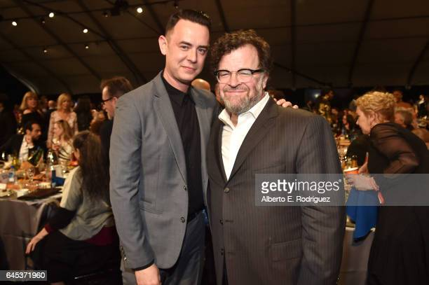 Actor Colin Hanks and playwright Kenneth Lonergan attend the 2017 Film Independent Spirit Awards at the Santa Monica Pier on February 25 2017 in...