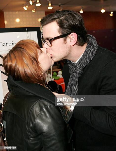 Actor Colin Hanks and Samantha visits the Kari Feinstein Sundance Style Lounge on January 20 2008 in Park City Utah