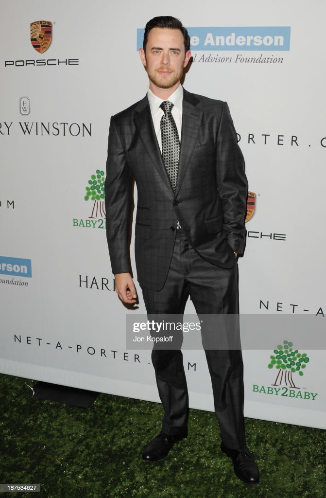 Actor <a gi-track='captionPersonalityLinkClicked' href=/galleries/search?phrase=Colin+Hanks+-+Actor&family=editorial&specificpeople=584005 ng-click='$event.stopPropagation()'>Colin Hanks</a> arrives at the 2nd Annual Baby2Baby Gala at The Book Bindery on November 9, 2013 in Culver City, California.