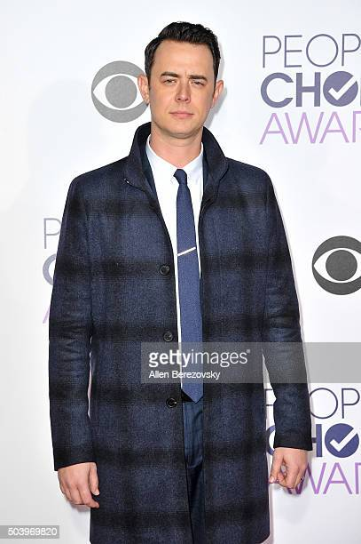 Actor Colin Hanks arrives at the People's Choice Awards 2016 at Microsoft Theater on January 6 2016 in Los Angeles California