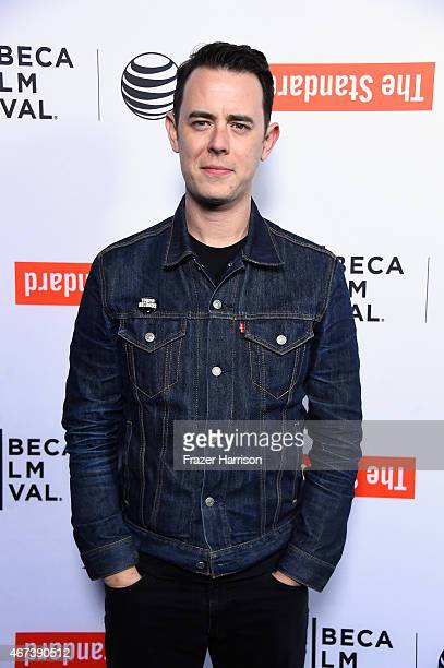 Actor Colin Hanks arrives at the Tribeca Film Festival Celebrates The 2015 Tribeca Film Festival Program And Tribeca Film's 2015 Upcoming Releases at...