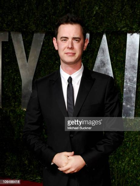Actor Colin Hanks arrives at the Vanity Fair Oscar party hosted by Graydon Carter held at Sunset Tower on February 27 2011 in West Hollywood...