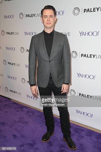 Actor Colin Hanks attends an evening with 'Life In Pieces' at The Paley Center for Media on December 14 2015 in Beverly Hills California