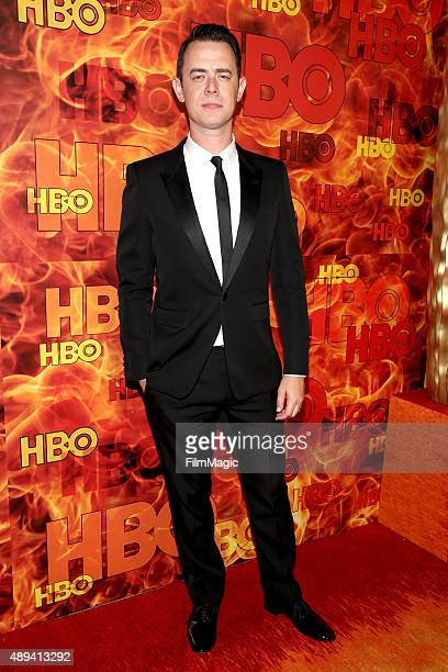 Actor Colin Hanks attends HBO's Official 2015 Emmy After Party at The Plaza at the Pacific Design Center on September 20 2015 in Los Angeles...