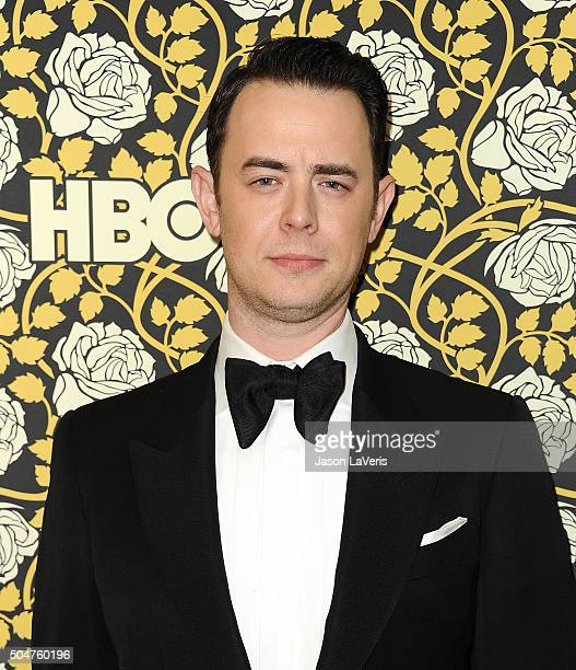 Actor Colin Hanks attends HBO's post 2016 Golden Globe Awards party at Circa 55 Restaurant on January 10 2016 in Los Angeles California
