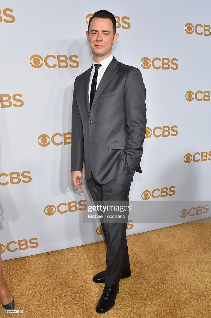 Actor Colin Hanks attends the 2015 CBS Upfront at The Tent at Lincoln Center on May 13 2015 in New York City