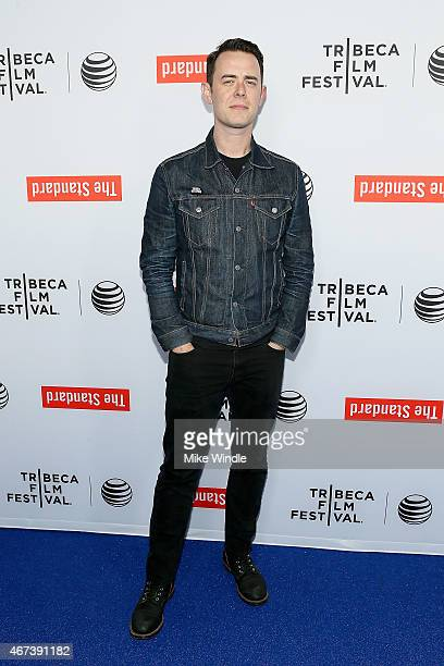 Actor Colin Hanks attends the 2015 Tribeca Film Festival LA Kickoff Reception at The Standard Hollywood on March 23 2015 in West Hollywood California