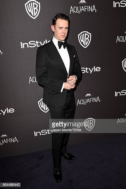 Actor Colin Hanks attends The 2016 InStyle And Warner Bros 73rd Annual Golden Globe Awards PostParty at The Beverly Hilton Hotel on January 10 2016...